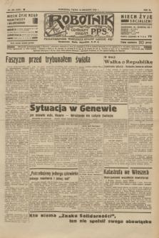Robotnik : centralny organ P.P.S. R.40 [i.e.41], nr 284 (13 września 1935) = nr 6356