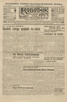 Robotnik : centralny organ P.P.S. R.40 [i.e.41], nr 286 (15 września 1935) = nr 6358