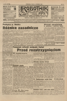 Robotnik : centralny organ P.P.S. R.40 [i.e.41], nr 291 (20 września 1935) = nr 6363