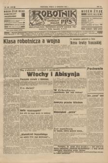 Robotnik : centralny organ P.P.S. R.40 [i.e.41], nr 292 (21 września 1935) = nr 6364