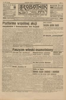 Robotnik : centralny organ P.P.S. R.40 [i.e.41], nr 300 (28 września 1935) = nr 6372
