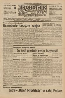 Robotnik : centralny organ P.P.S. R.40 [i.e.41], nr 308 (5 października 1935) = nr 6380