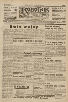 Robotnik : centralny organ P.P.S. R.40 [i.e.41], nr 323 (19 października 1935) = nr 6395