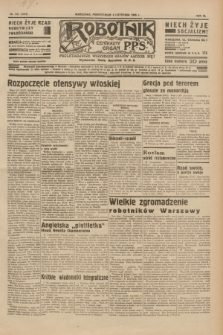 Robotnik : centralny organ P.P.S. R.40 [i.e.41], nr 342 (4 listopada 1935) = nr 6413