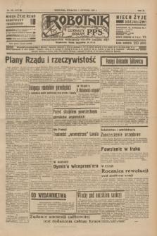 Robotnik : centralny organ P.P.S. R.40 [i.e.41], nr 345 (7 listopada 1935) = nr 6417