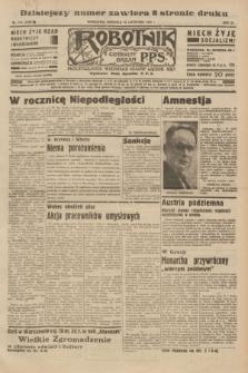 Robotnik : centralny organ P.P.S. R.40 [i.e.41], nr 348 (10 listopada 1935) = nr 6420