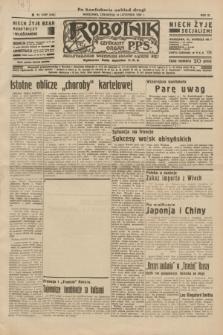Robotnik : centralny organ P.P.S. R.40 [i.e.41], nr 355 (14 listopada 1935) = nr 6427 (po konfiskacie nakład drugi)