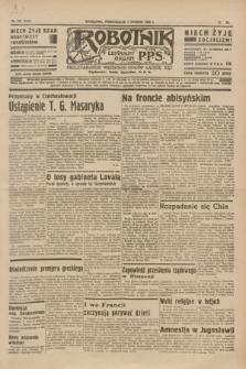 Robotnik : centralny organ P.P.S. R.40 [i.e.41], nr 378 (2 grudnia 1935) = nr 6449