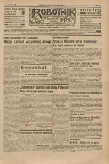Robotnik : centralny organ P.P.S. R.40 [i.e.41], nr 379 (3 grudnia 1935) = nr 6450