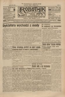 Robotnik : centralny organ P.P.S. R.40 [i.e.41], nr 381 (4 grudnia 1935) = nr 6452 (po konfiskacie nakład drugi)