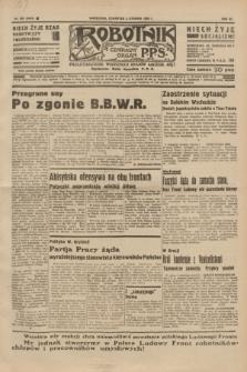 Robotnik : centralny organ P.P.S. R.40 [i.e.41], nr 382 (5 grudnia 1935) = nr 6453