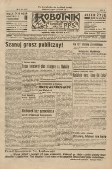 Robotnik : centralny organ P.P.S. R.40 [i.e.41], nr 384 (6 grudnia 1935) = nr 6455 (po konfiskacie nakład drugi)