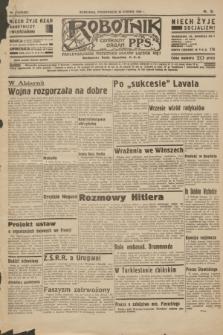 Robotnik : centralny organ P.P.S. R.40 [i.e.41], nr 414 (30 grudnia 1935) = nr 6485