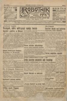 Robotnik : centralny organ P.P.S. R.40 [i.e.42], nr 2 (2 stycznia 1936) = nr 6488