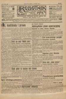 Robotnik : centralny organ P.P.S. R.41 [i.e.42], nr 5 (4 stycznia 1936) = nr 6491