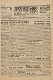 Robotnik : centralny organ P.P.S. R.41 [i.e.42], nr 7 (7 stycznia 1936) = nr 6493