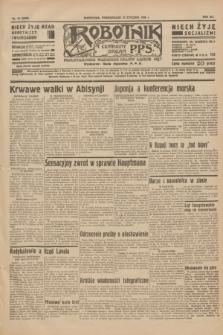 Robotnik : centralny organ P.P.S. R.41 [i.e.42], nr 14 (13 stycznia 1936) = nr 6500
