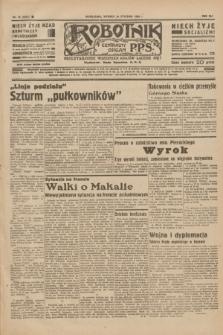 Robotnik : centralny organ P.P.S. R.41 [i.e.42], nr 15 (14 stycznia 1936) = nr 6501