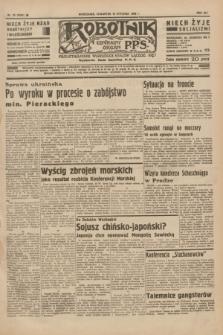 Robotnik : centralny organ P.P.S. R.41 [i.e.42], nr 18 (16 stycznia 1936) = nr 6504
