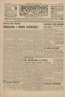 Robotnik : centralny organ P.P.S. R.41 [i.e.42], nr 19 (17 stycznia 1936) = nr 6505