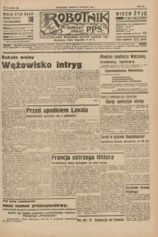 Robotnik : centralny organ P.P.S. R.41 [i.e.42], nr 20 (18 stycznia 1936) = nr 6506