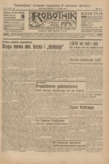 Robotnik : centralny organ P.P.S. R.41 [i.e.42], nr 21 (19 stycznia 1936) = nr 6507