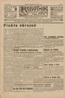 Robotnik : centralny organ P.P.S. R.41 [i.e.42], nr 25 (23 stycznia 1936) = nr 6511
