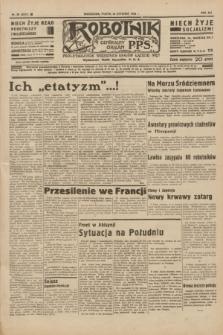 Robotnik : centralny organ P.P.S. R.41 [i.e.42], nr 26 (24 stycznia 1936) = nr 6512
