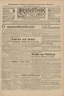 Robotnik : centralny organ P.P.S. R.41 [i.e.42], nr 28 (26 stycznia 1936) = nr 6514