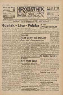 Robotnik : centralny organ P.P.S. R.41 [i.e.42], nr 30 (28 stycznia 1936) = nr 6516