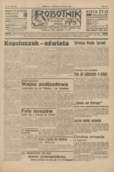Robotnik : centralny organ P.P.S. R.41 [i.e.42], nr 33 (30 stycznia 1936) = nr 6519
