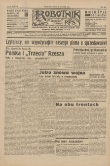 Robotnik : centralny organ P.P.S. R.41 [i.e.42], nr 34 (31 stycznia 1936) = nr 6520