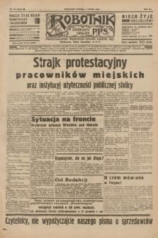 Robotnik : centralny organ P.P.S. R.41 [i.e.42], nr 38 (4 lutego 1936) = nr 6523