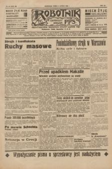 Robotnik : centralny organ P.P.S. R.41 [i.e.42], nr 40 (5 lutego 1936) = nr 6525