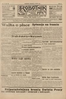 Robotnik : centralny organ P.P.S. R.41 [i.e.42], nr 42 (6 lutego 1936) = nr 6527