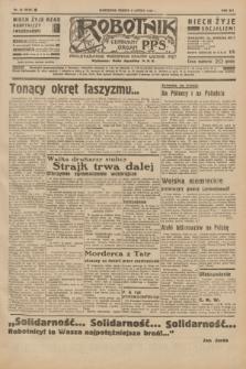 Robotnik : centralny organ P.P.S. R.41 [i.e.42], nr 44 (8 lutego 1936) = nr 6529