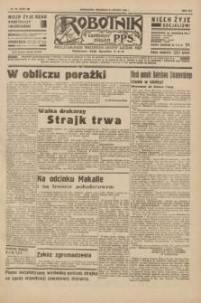 Robotnik : centralny organ P.P.S. R.41 [i.e.42], nr 45 (9 lutego 1936) = nr 6530