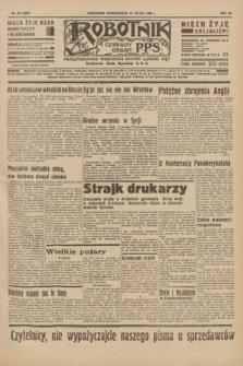 Robotnik : centralny organ P.P.S. R.41 [i.e.42], nr 46 (10 lutego 1936) = nr 6531