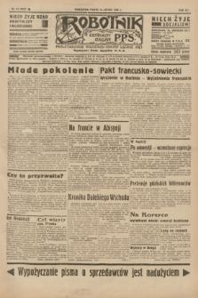 Robotnik : centralny organ P.P.S. R.41 [i.e.42], nr 51 (14 lutego 1936) = nr 6535