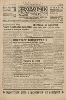 Robotnik : centralny organ P.P.S. R.41 [i.e.42], nr 58 (20 lutego 1936) = nr 6543 (po konfiskacie nakład drugi)