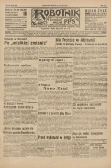 Robotnik : centralny organ P.P.S. R.41 [i.e.42], nr 60 (22 lutego 1936) = nr 6545