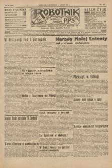Robotnik : centralny organ P.P.S. R.41 [i.e.42], nr 62 (24 lutego 1936) = nr 6547