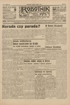 Robotnik : centralny organ P.P.S. R.41 [i.e.42], nr 71 (4 marca 1936) = nr 6556