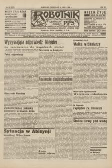 Robotnik : centralny organ P.P.S. R.41 [i.e.42], nr 85 (16 marca 1936) = nr 6570