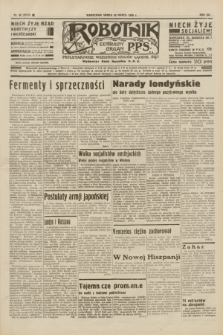 Robotnik : centralny organ P.P.S. R.41 [i.e.42], nr 88 (18 marca 1936) = nr 6573