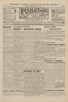 Robotnik : centralny organ P.P.S. R.40/41 [i.e.42], nr 92 (22 marca 1936) = nr + dod. [skonfiskowany]