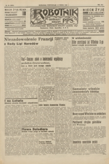 Robotnik : centralny organ P.P.S. R.41 [i.e.42], nr 94 (23 marca 1936) = nr 6578