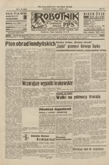 Robotnik : centralny organ P.P.S. R.41 [i.e.42], nr 96 (24 marca 1936) = nr 6580 (po konfiskacie nakład drugi)