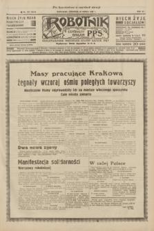 Robotnik : centralny organ P.P.S. R.41 [i.e.42], nr 100 (26 marca 1936) = nr 6584 (po konfiskacie nakład drugi)