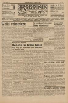Robotnik : centralny organ P.P.S. R.41 [i.e.42], nr 102 (28 marca 1936) = nr 6586